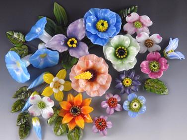 Sculptural Floral Grouping