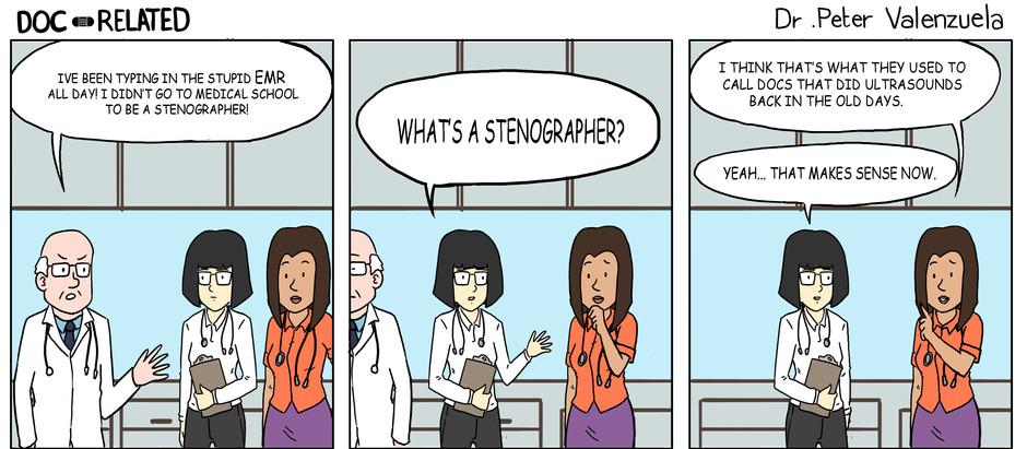 Dr. Stenographer