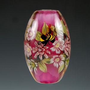 KFields - Encased Floral & Bee Murrini B