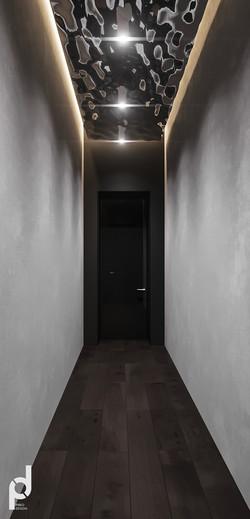 коридор в душевую