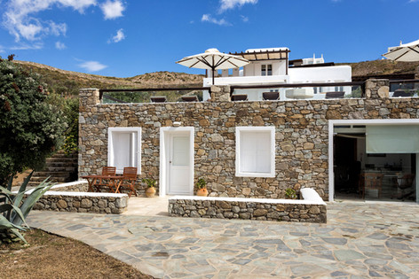 The Annex House, next to the office, at the Galaxy Mykonos