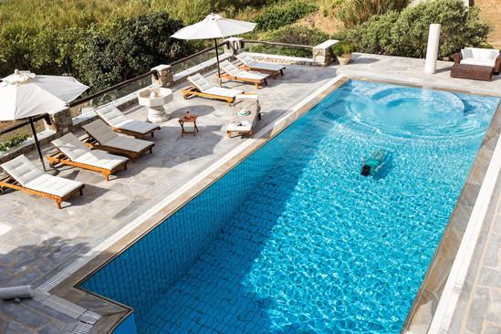 The refreshing splash in the pool.jpg