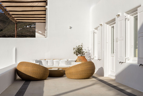 Star House veranda with Dedon furniture