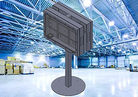 Endüstriyel Tv Totem Aparatı