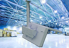 Endüstriyel Tv Tavan Askı Apratı