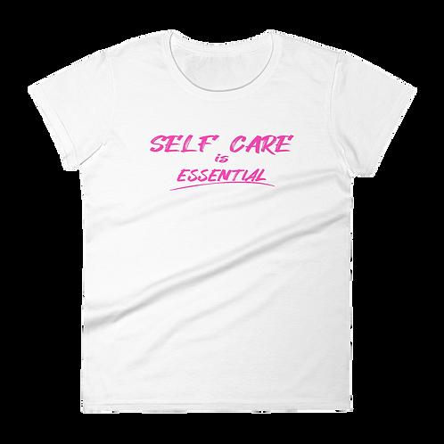 Women's SELF CARE PINK Tee