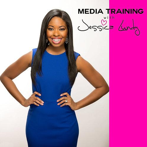 Media Training with Jessica