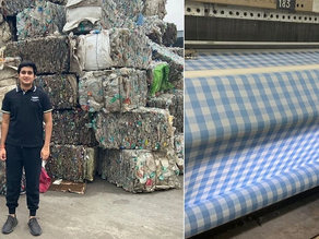 Startup by 17-year-old boy recycle 10tonnes of Plastic into fabric