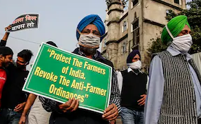 Are farmers right in their actions of protest?