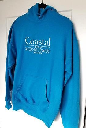 Coastal Ties Embroidered Hoodie