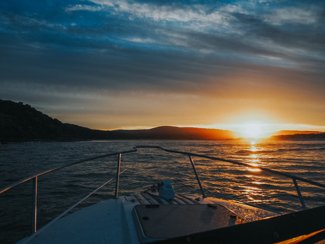 Ocean Sunset, Nornalup Inlet
