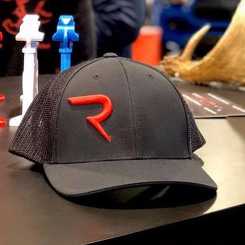 Red on Black -  FlexFit Hat