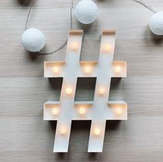 Svítící symbol #