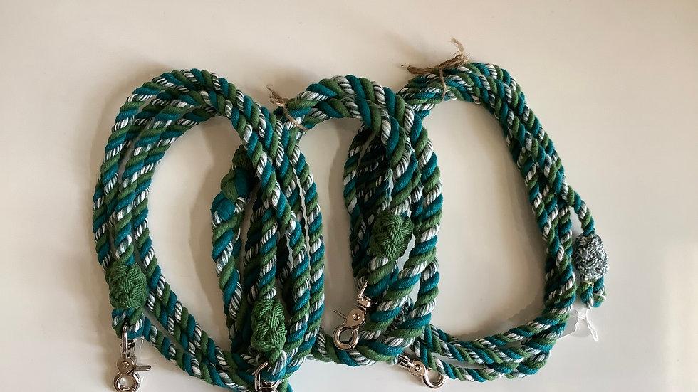 Set ~ Barrel Rein, Lead Rope & Dog Leash