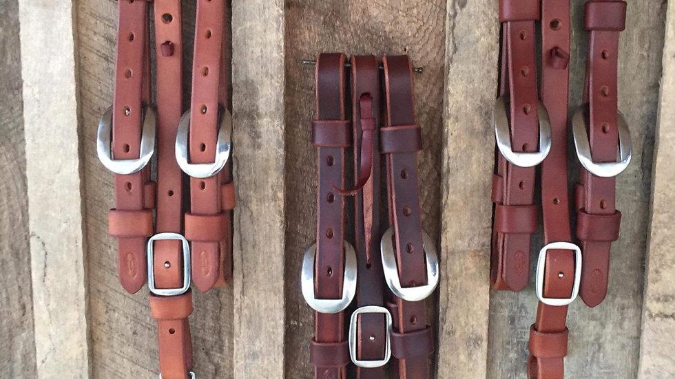 Handmade Leather Tug Set
