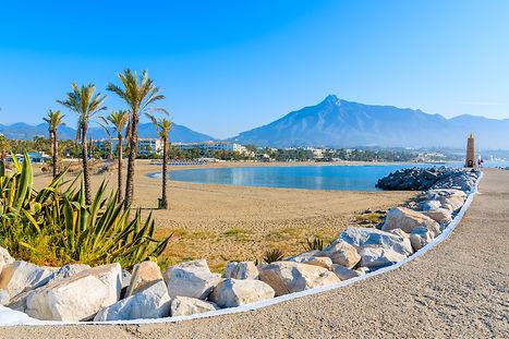 Marbella Golden mile beach clubs