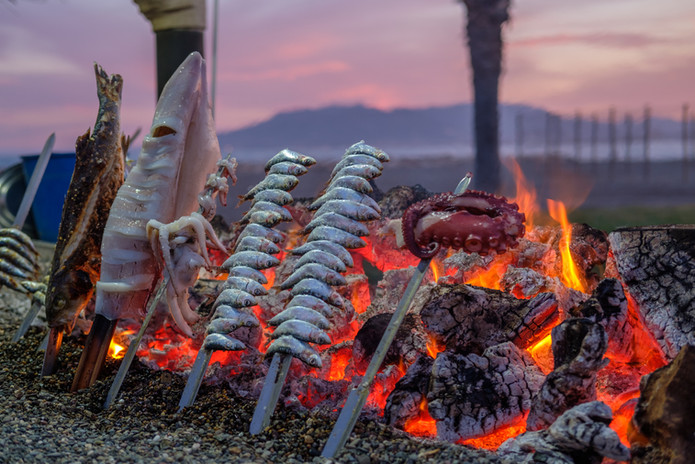sea grilled