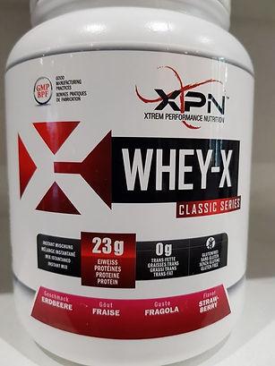 La nouvelle Whey de chez XPN qui rejoint