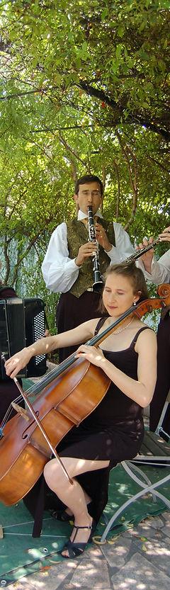 Duo violoncelle et clarinette Cannes Côte d'Azur