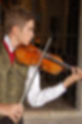 Paul Ballesta violon Concert à Notre Dame de Vie Mougins