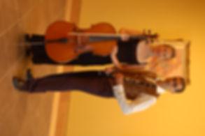Duo musical violoncelle clarinette au Musée Bonnard le Cannet Côte d'Azur