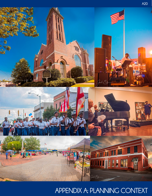 Cover and Interior Photos – City of Troy, Downton Troy Plan Vision 2026