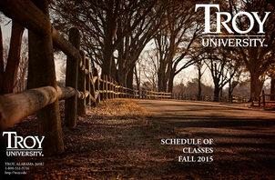 Cover Photo – Troy Graduate and Undergraduate Catalogue 2015-2016 / 2016-2017
