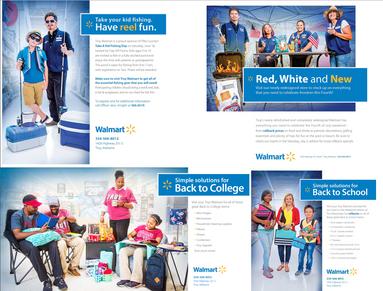 Print Ads for Walmart – Troy Messenger Fall 2016
