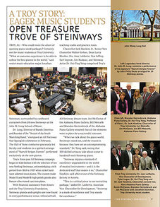 Steinway Chronicle Publications, Summer 2015