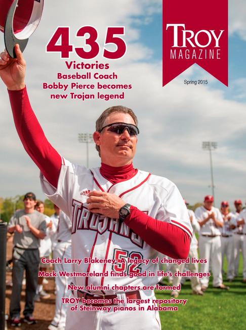 Cover Photo Troy Alumni Magazine Summer 2015