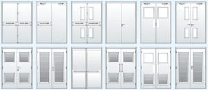 Common Hardware configurations for double doors
