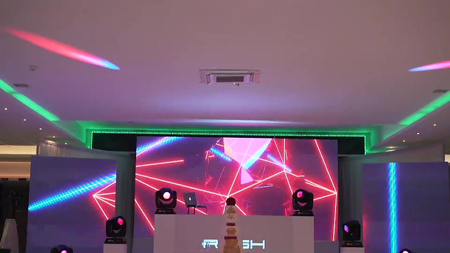 RESH White Stage Set Customer View - Low