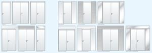 Common Steel Door types and panel options