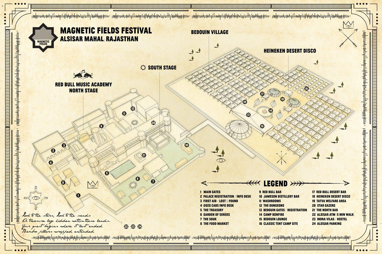 Festival and Dessert Map