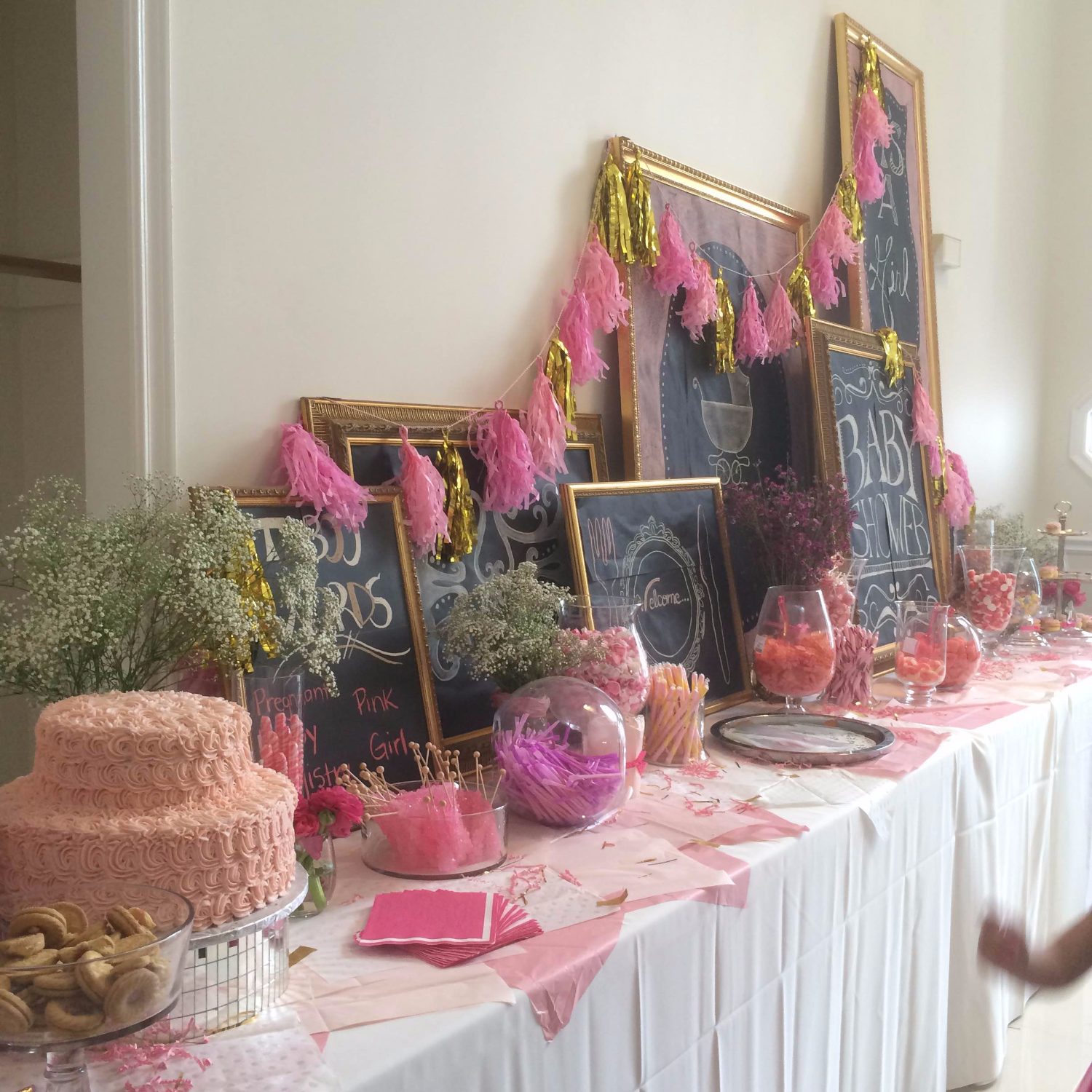 Baby Pink Candy Bar