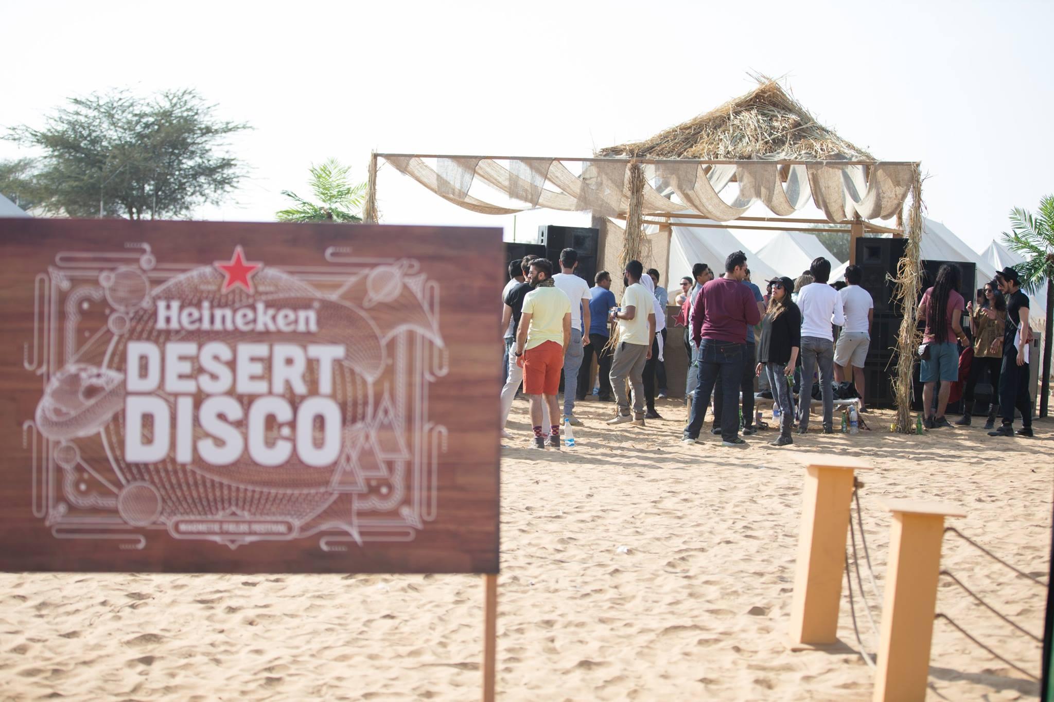 Heineken Disco at Noon