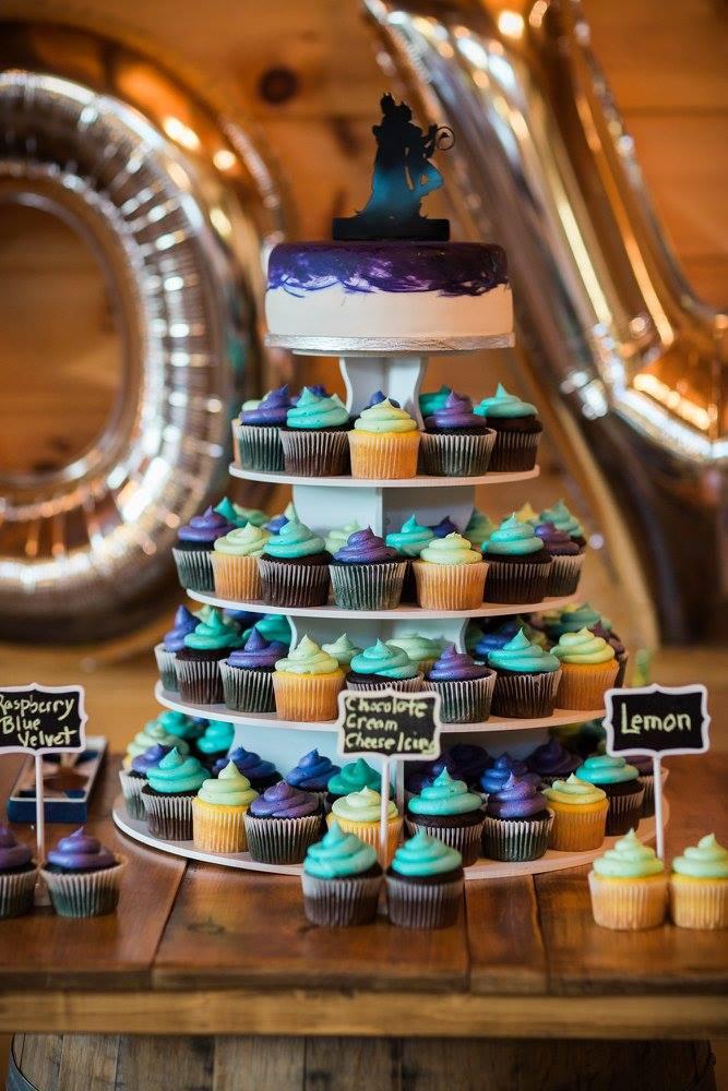 Cup-wedding-cake