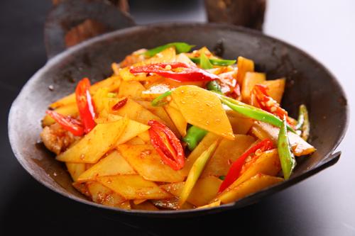 干锅土豆片28