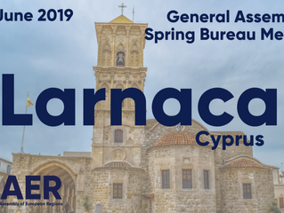 AER welcomes RS to the Spring Bureau Meeting & General Assembly in Larnaca