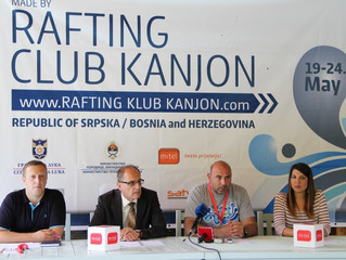 "REPUBLIC OF SRPSKA HOSTED WILD WATER CANOEING EUROPEAN CHAMPIONSHIPS ""BANJA LUKA - VRBAS 2015&q"