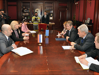 Prime Minister of Republic of Srpska Zeljka Cvijanovic spoke with Head of EU Delegation to BiH Lars-