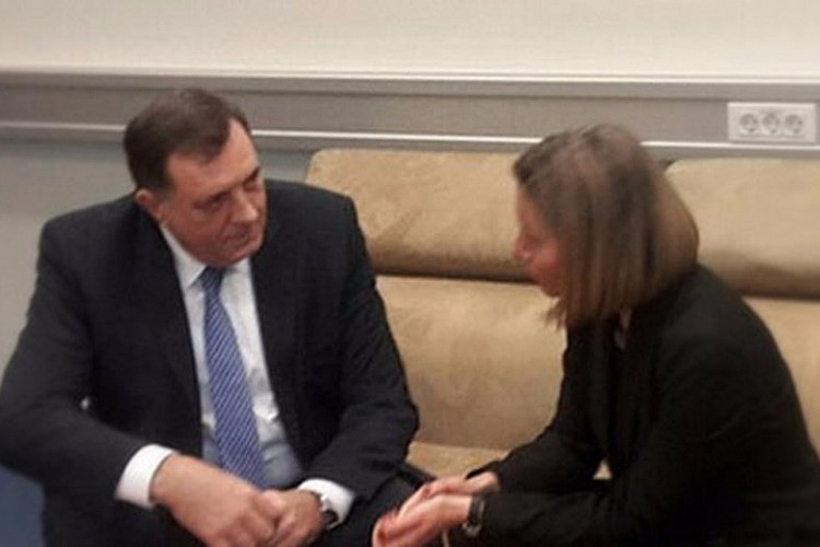 President Dodik and EU HR Mogherini