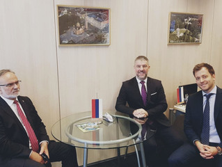 The Representation in Brussels welcomes Ministers from Republic of Srpska