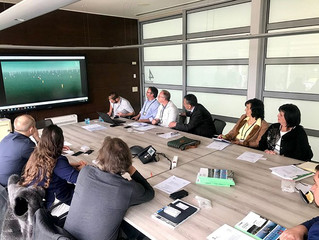 Minister of Spatial Planning, Construction and Ecology pays a visit to the Flemish Region