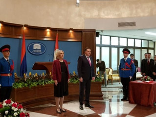 Inauguration of Republika Srpska National Assembly president and BiH Presidency member