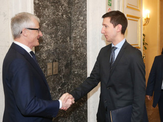The Minister-President of the Government of Flanders welcomed representative of the Republic of Srps