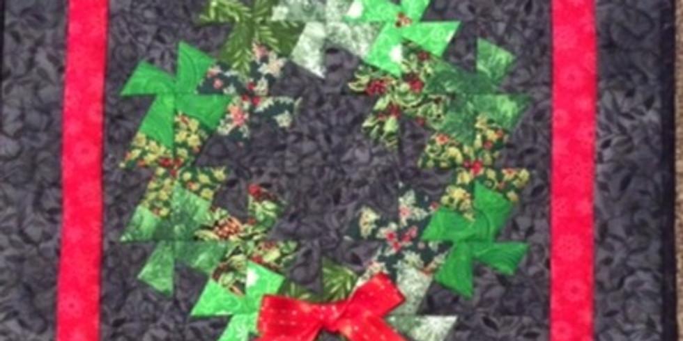 Pinwheel Wreath by Margaret Miller - Friday Morning 9-12