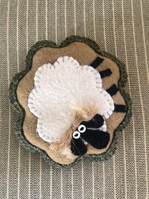 Lamb Pin Cushion by Kris Orton