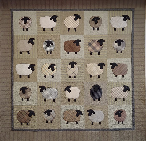 Counting Sheep by Linda Miller