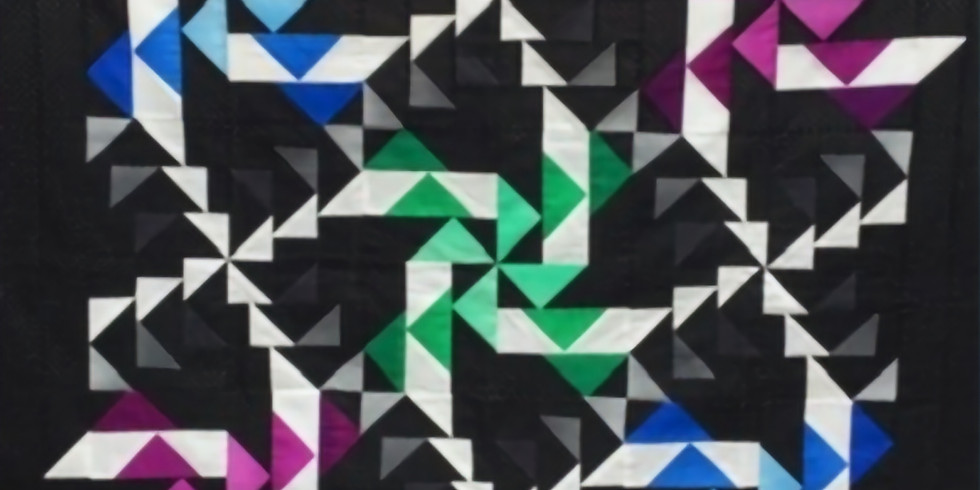 Whirlwind Quilt by Claudia Crump - Friday Morning 9-12